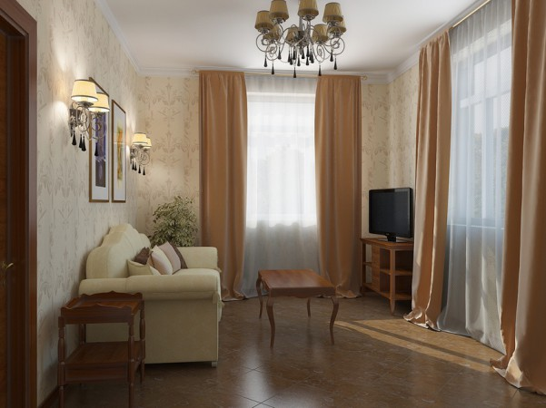 Гостевая комната, первый этаж