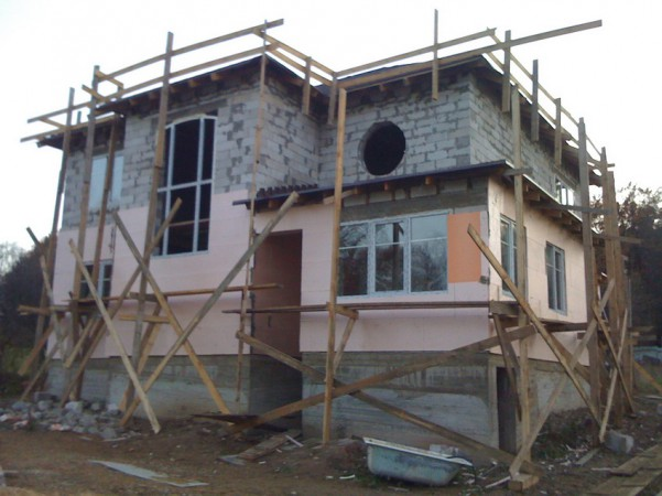 Первый этап - Фасад