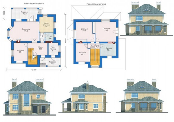 Базовый проект дома