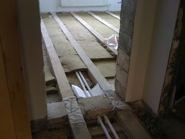 Полы второй этаж - спальня